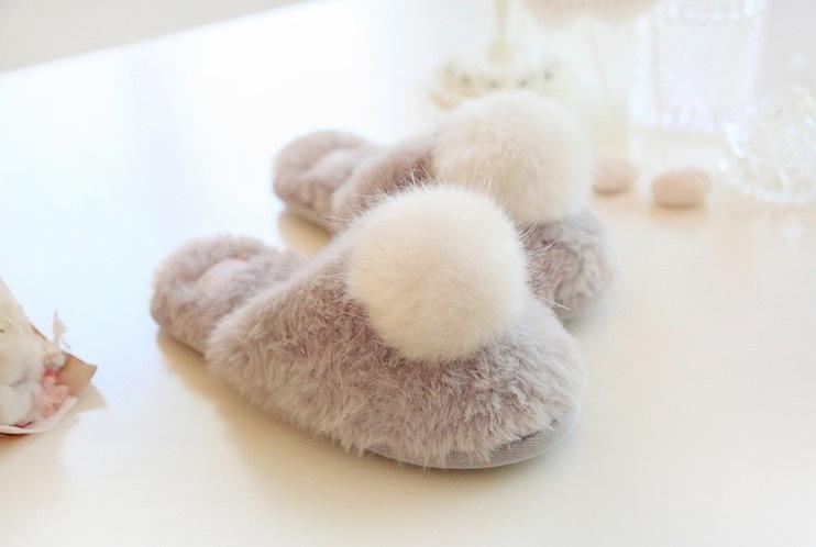 ふわふわ モコモコ スリッパ ルームシューズ 毛 毛玉 暖か 保温 冬 レディース おしゃれ かわいい