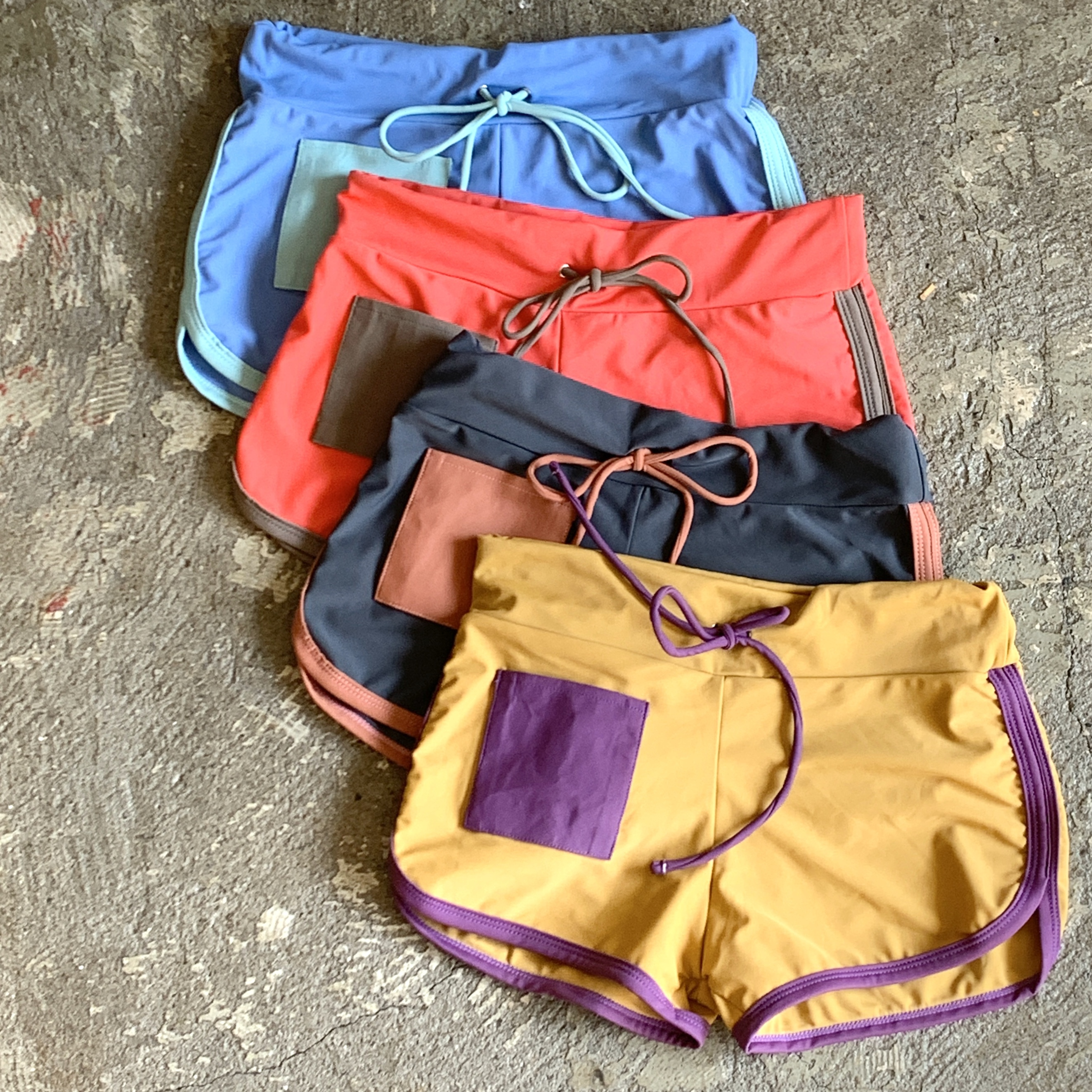 Swim Short Pants Bi Color