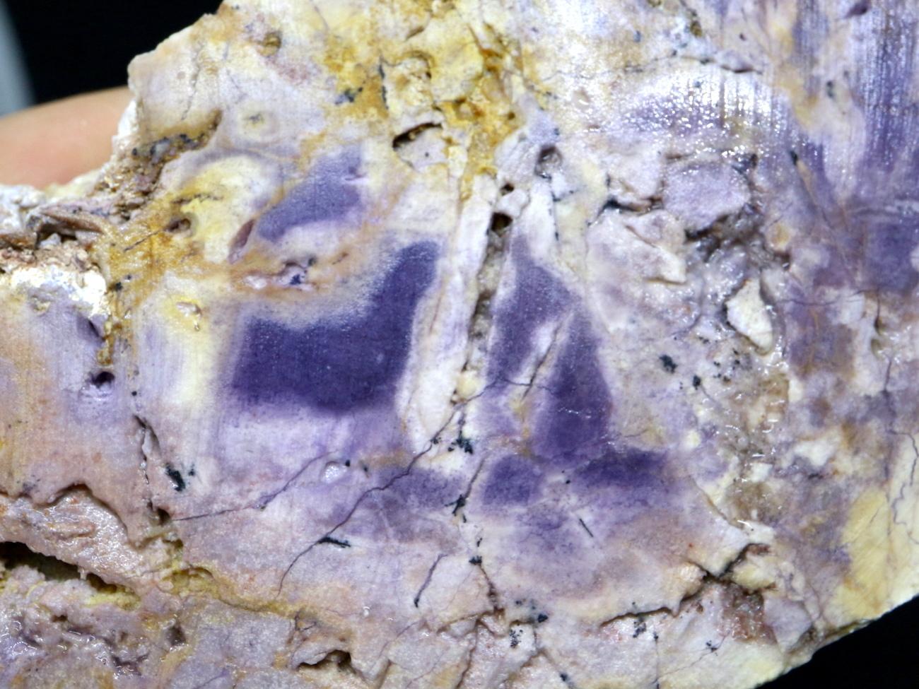 超希少!ティファニーストーン スライス 原石 ユタ州産 110,3g 鉱物 TF024