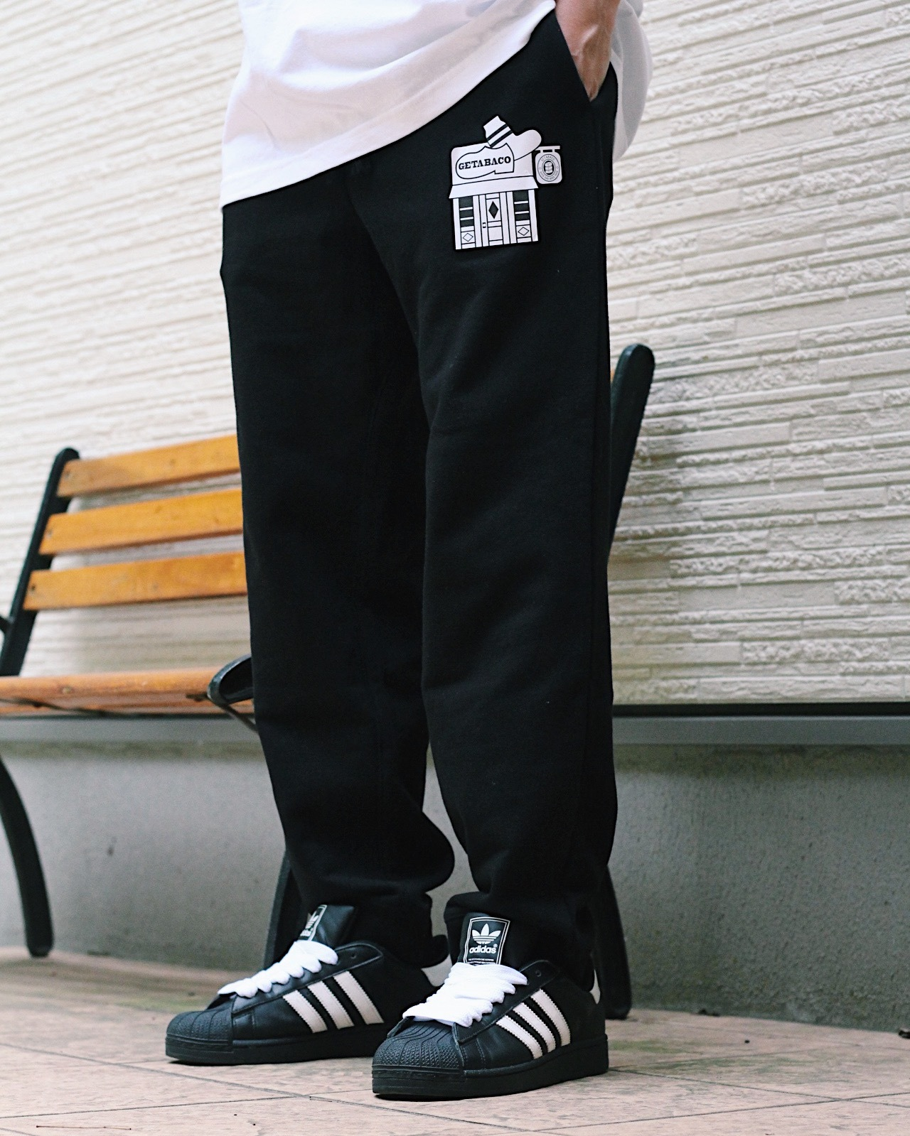 GETABACO SWEAT PANT [BLACK:M]