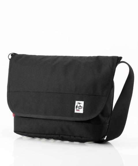 CHUMS (チャムス) Eco CHUMS Messenger Bag (エコチャムスメッセンジャーバッグ) Black (ブラック) CH60-2470