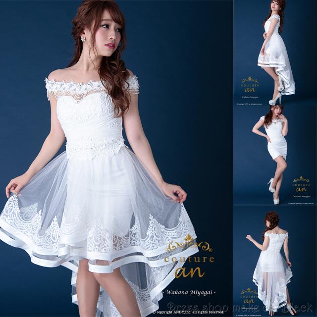 an AOC-2048 2wayミニドレス ¥46,440- (税込) キャバドレス パーティー ドレス