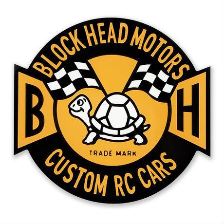 BLOCKHEAD MOTORS エンブレムステッカー