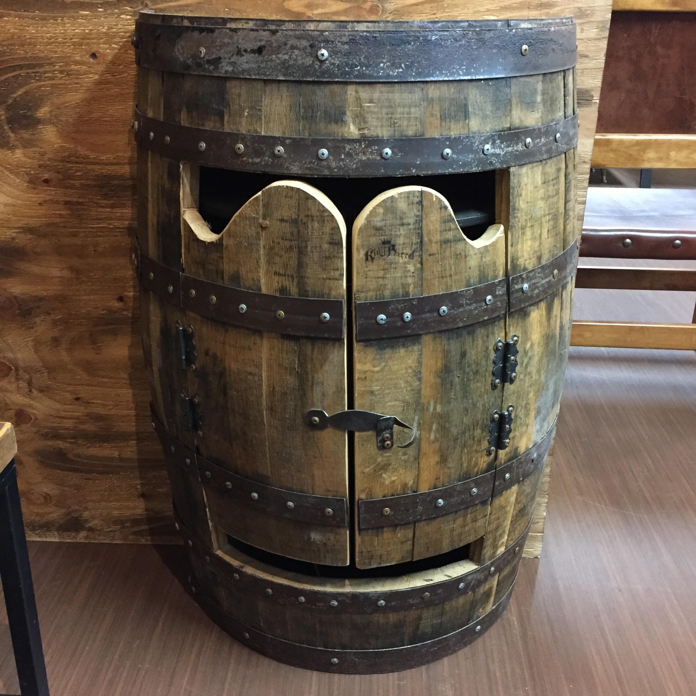 品番4933 ワインバレル リカーキャビネット シェルフ ラック 樽 ヴィンテージ 011