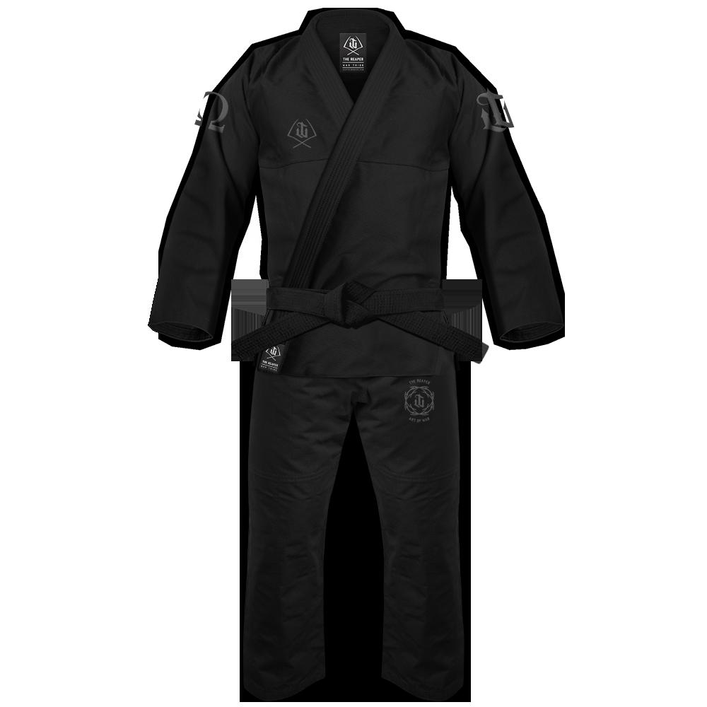 WAR TRIBE GEAR REAPER GI ブラック|ブラジリアン柔術衣(柔術着)