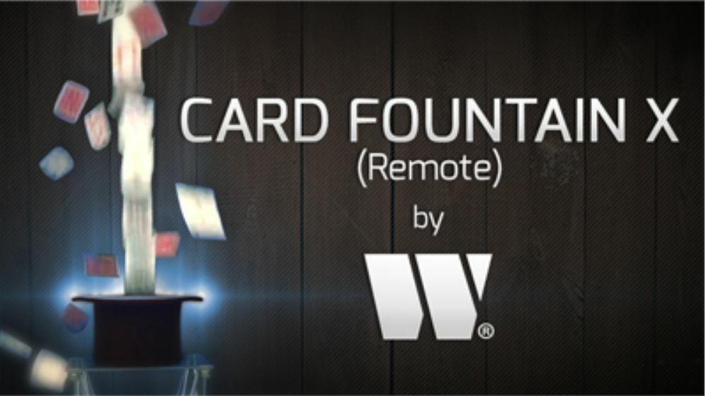 カードファウンテンX よく飛び使える実用的ファウンテンカード!