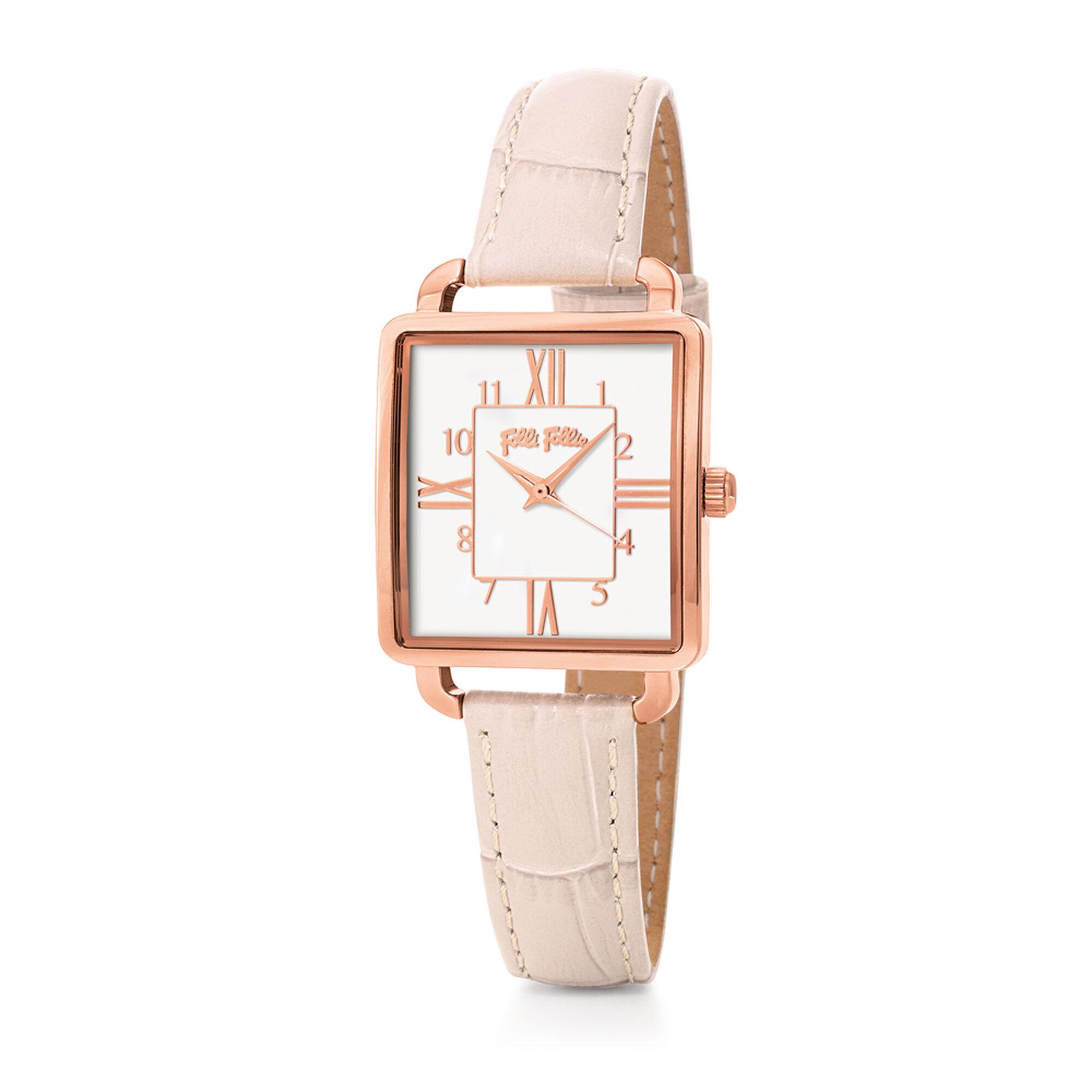 RETRO TIME レザーベルトウォッチ/腕時計