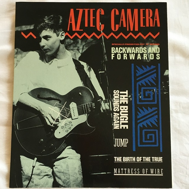 【10inch・米盤】Aztec Camera / Backwards And Forwards