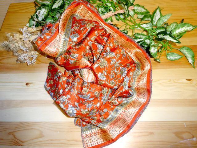 saris005 シルクサリーショール