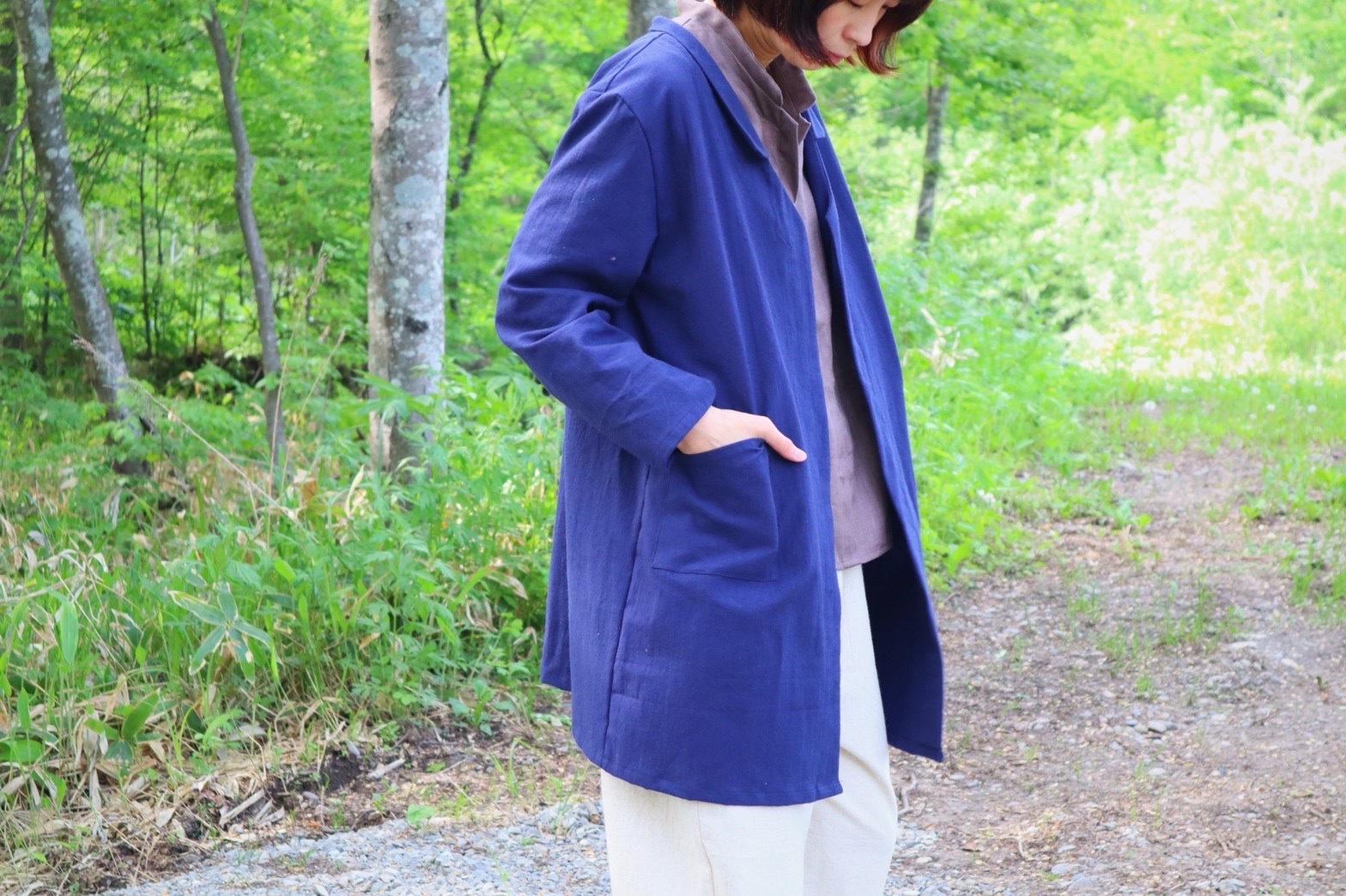 【2021秋受注限定】襟付きジャケット