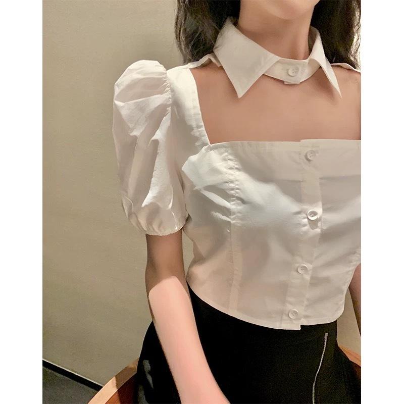 volume sleeve chorker shirt