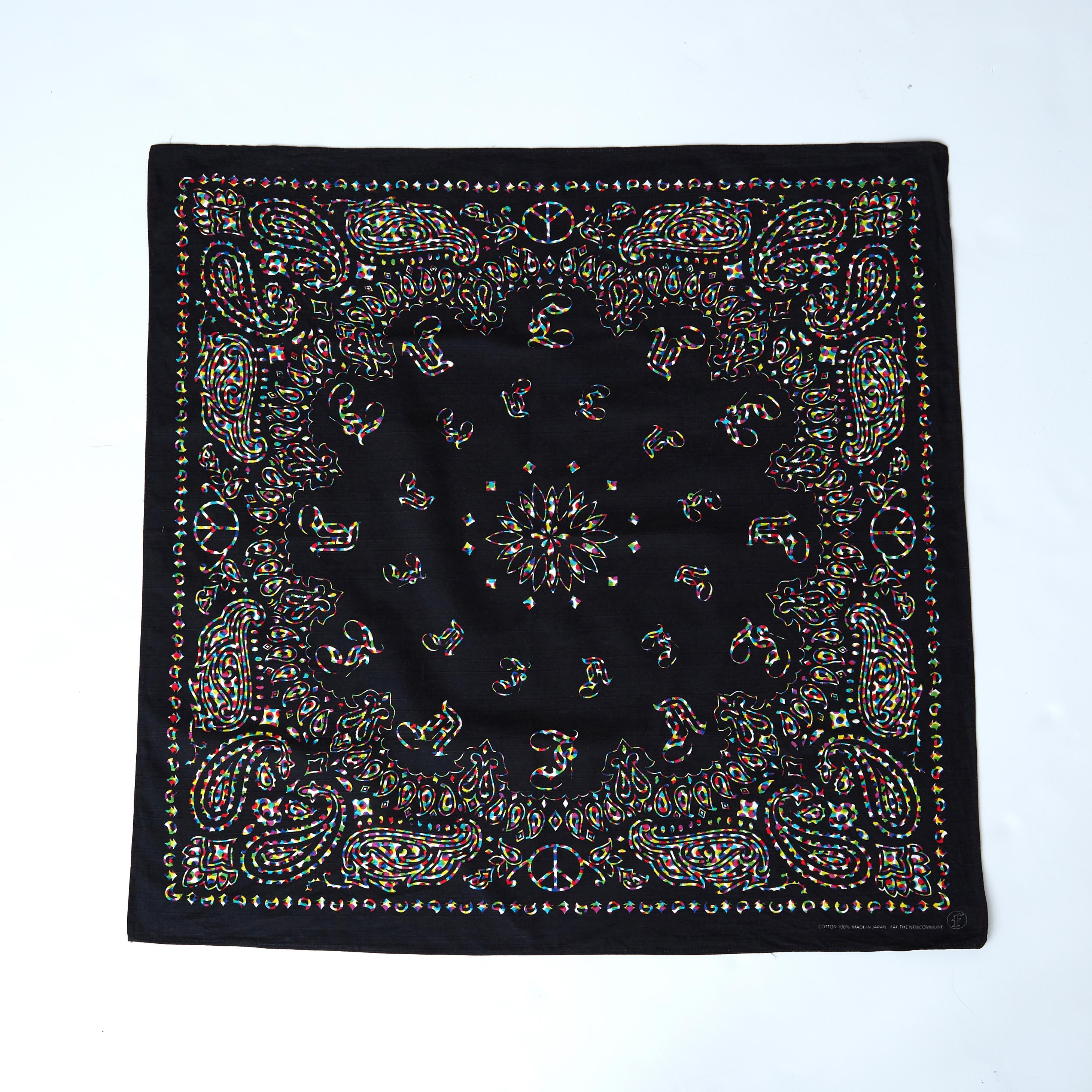 COLORTONE LARGE BANDANA - 画像1