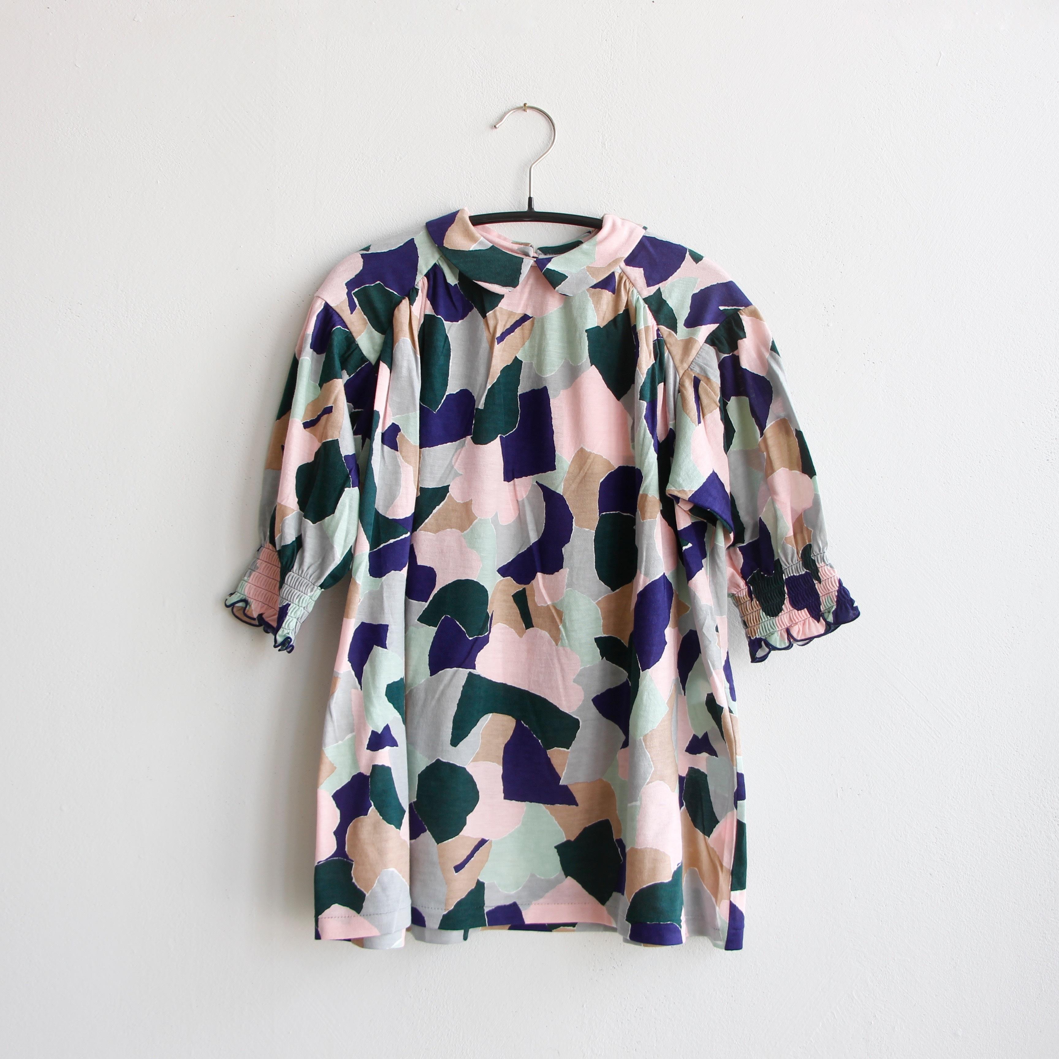 《mina perhonen 2020AW》foliage ワンピース / pink mix / 80-100cm