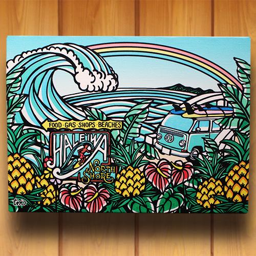 アートパネル F4号(Country of Hawaii)