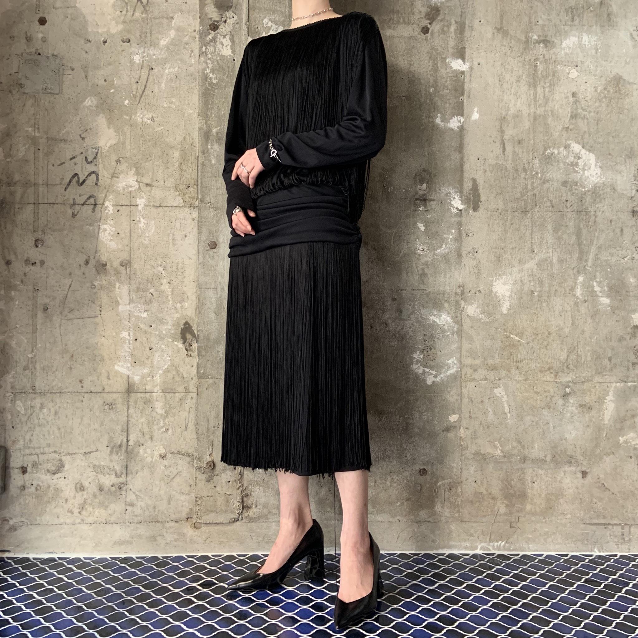USA vintage fringe dress