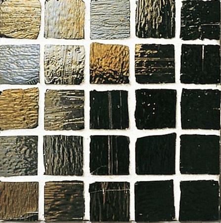 Staind Grass Mosaic【Midnight Black/Pearl】ステンドグラスモザイク【ミッドナイトブラック/パ-ル】