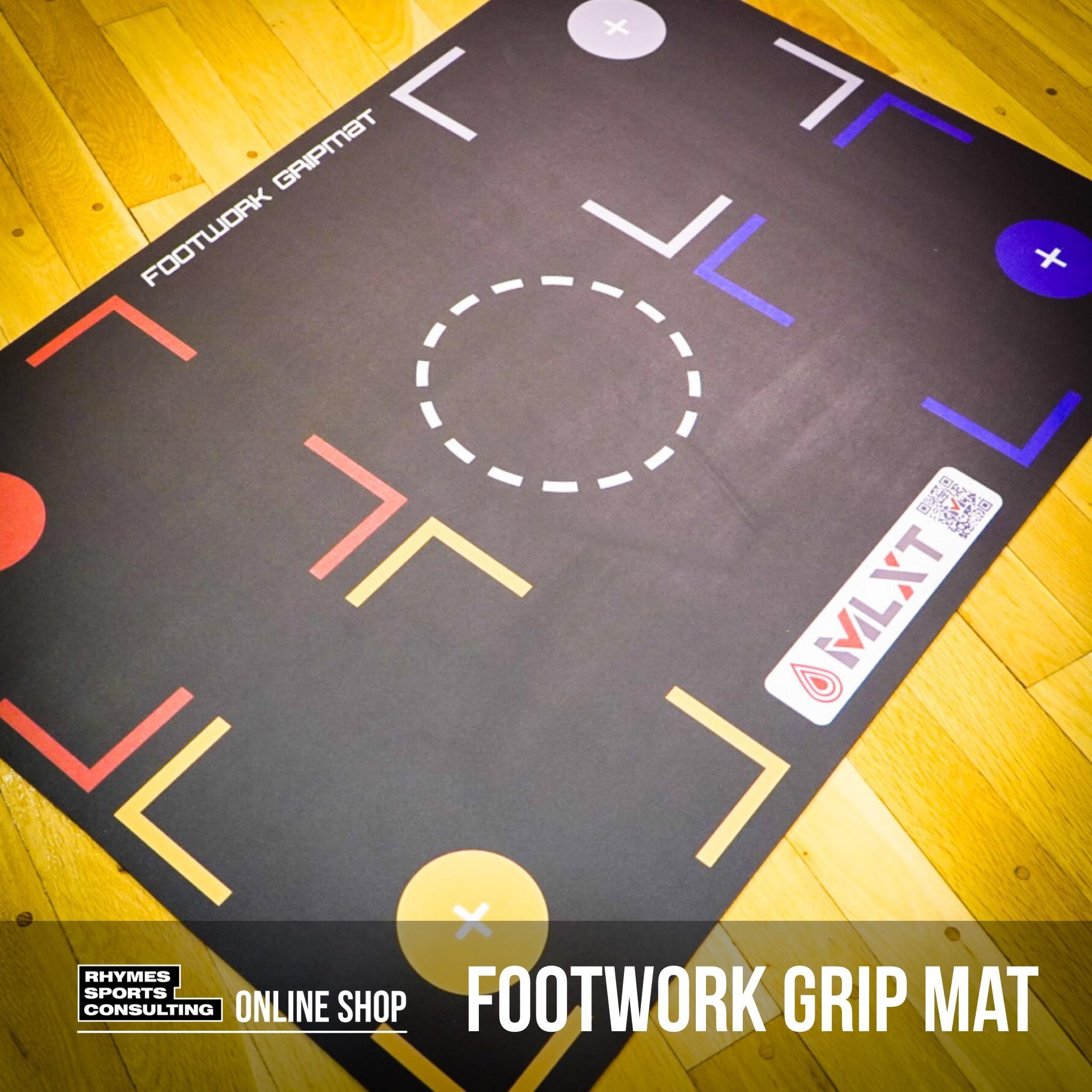 【日本で唯一の正規商品取扱店】FOOTWORK GRIPMAT|スキルトレーニング専用 フットーワークマット