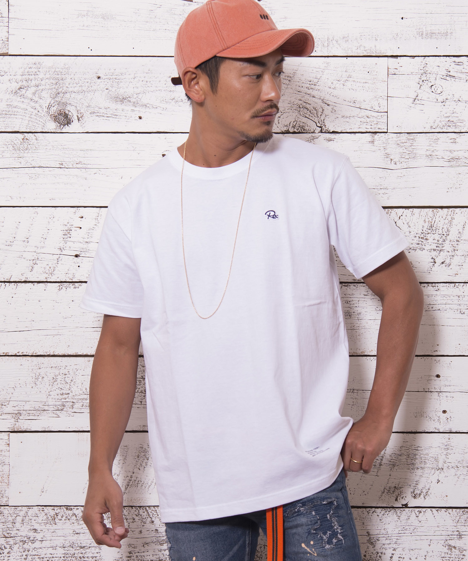 """ONE POINT BASIC T-shirts """"Re:""""[REC171]"""