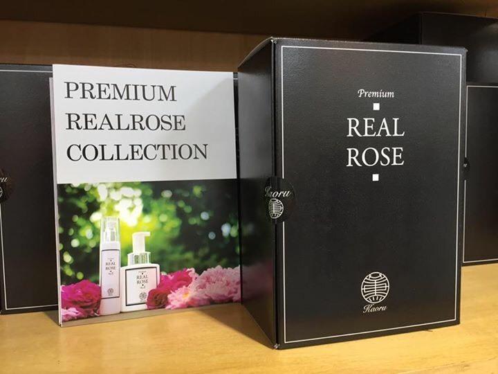 『薔薇の宝石箱』 プレミアムリアルローズ 4点セット