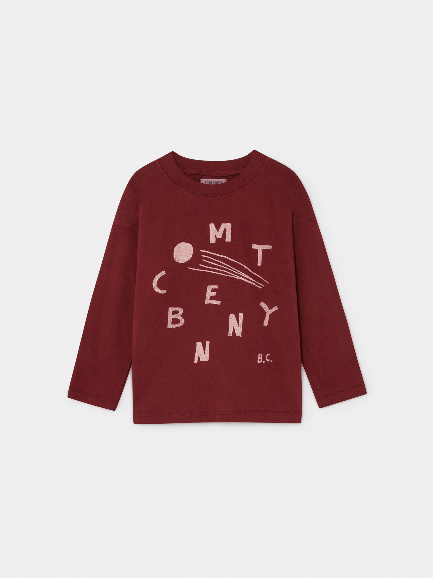《BOBO CHOSES 2019AW》Comet Benny long sleeve T-shirt / 2-9Y