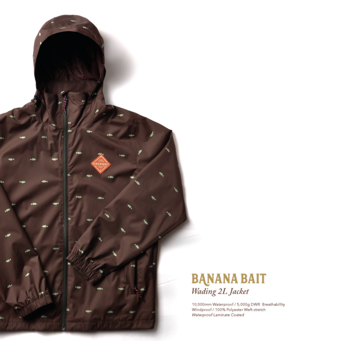 【Banana Bait】Wading 2L Jacket / Brown