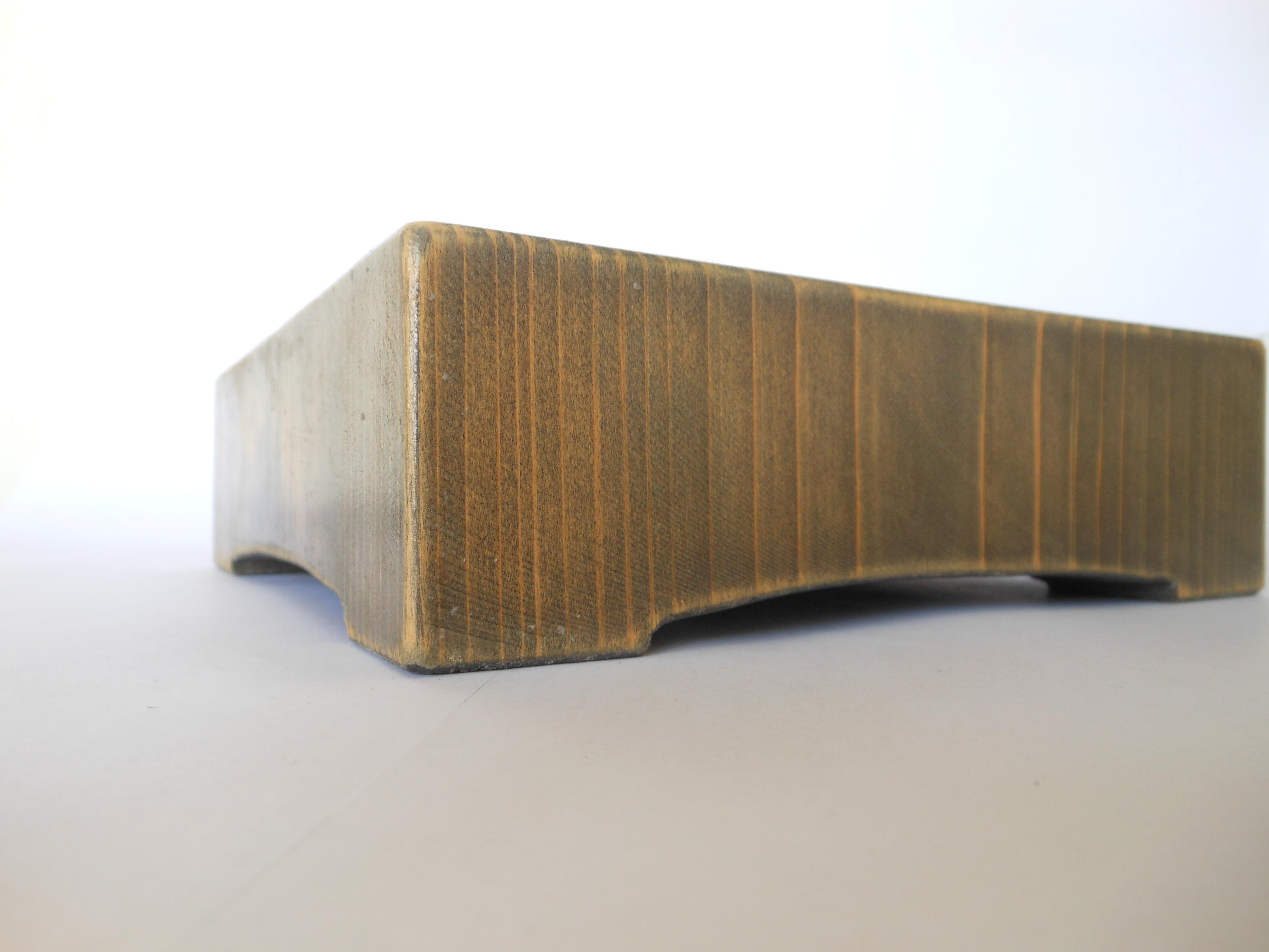 古材 木製サルヴァ - 画像5