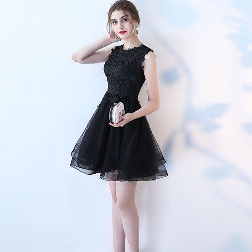 ♪フラワーレースノースリーブドレス★5色