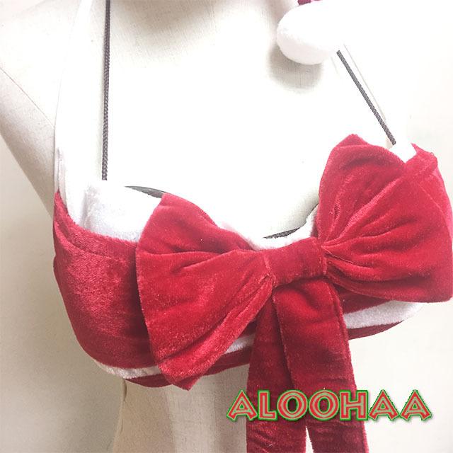 クリスマス衣装 リボンブラ