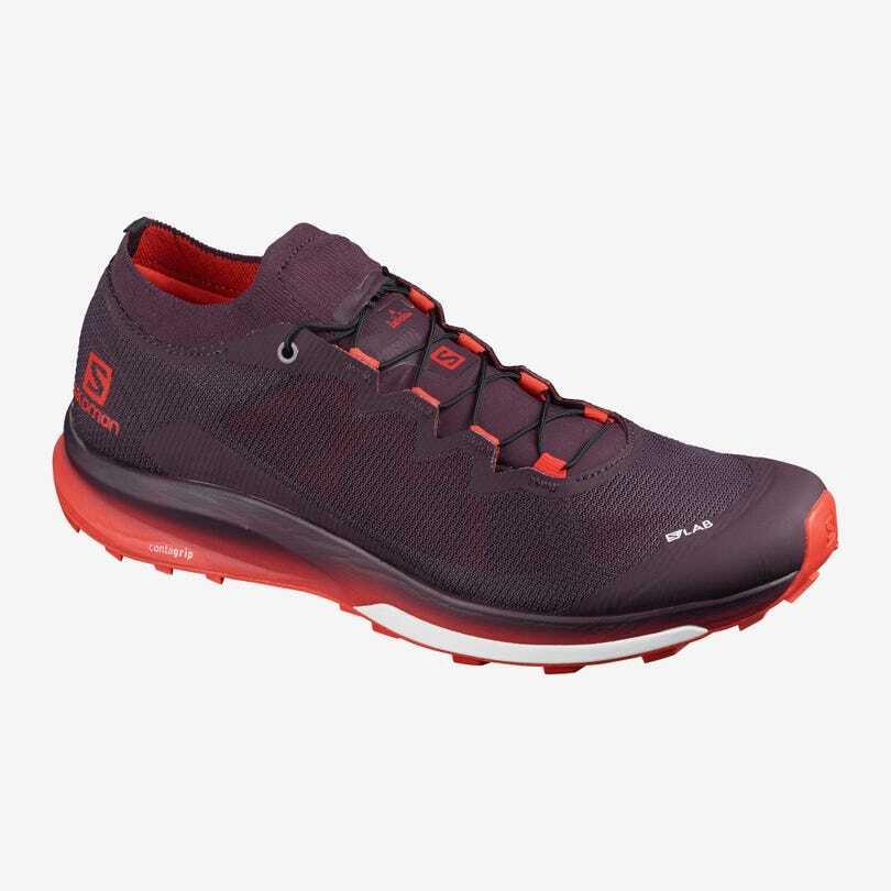 Salomon サロモン ユニセックス FOOTWEAR S/LAB ULTRA 3 エスラボウルトラ Maverick / Racing Red (マーベリック/レーシングレッド)L41266100 【トレイルランニングシューズ】