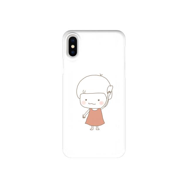 きのこさん、パンあげる (iPhone case)
