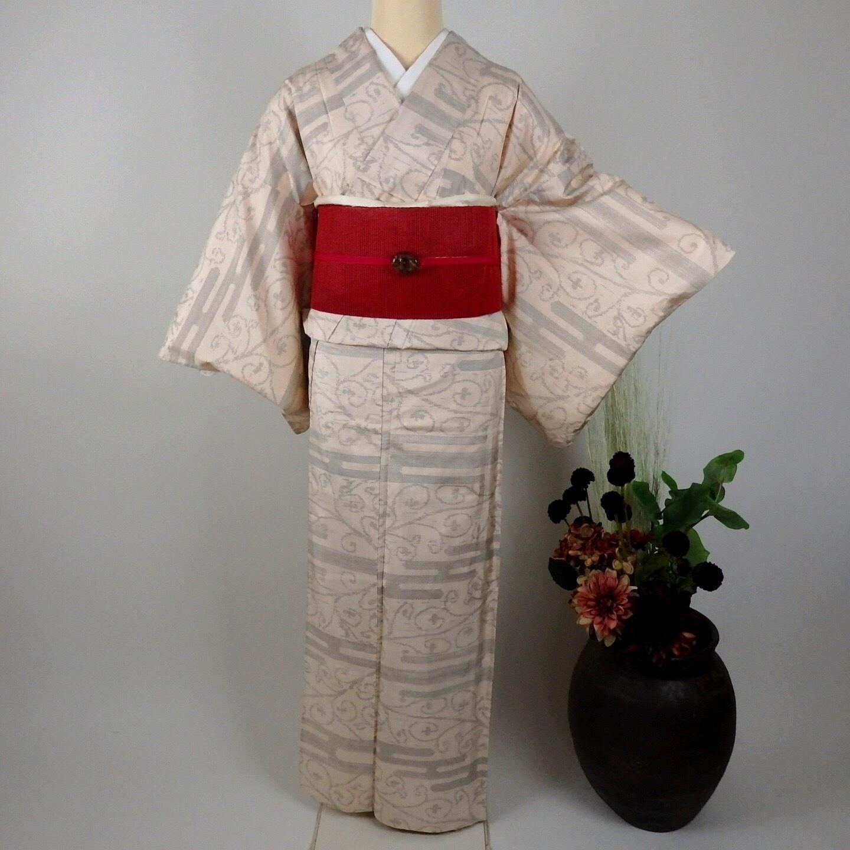 589夏用 夏大島紬 単衣単品