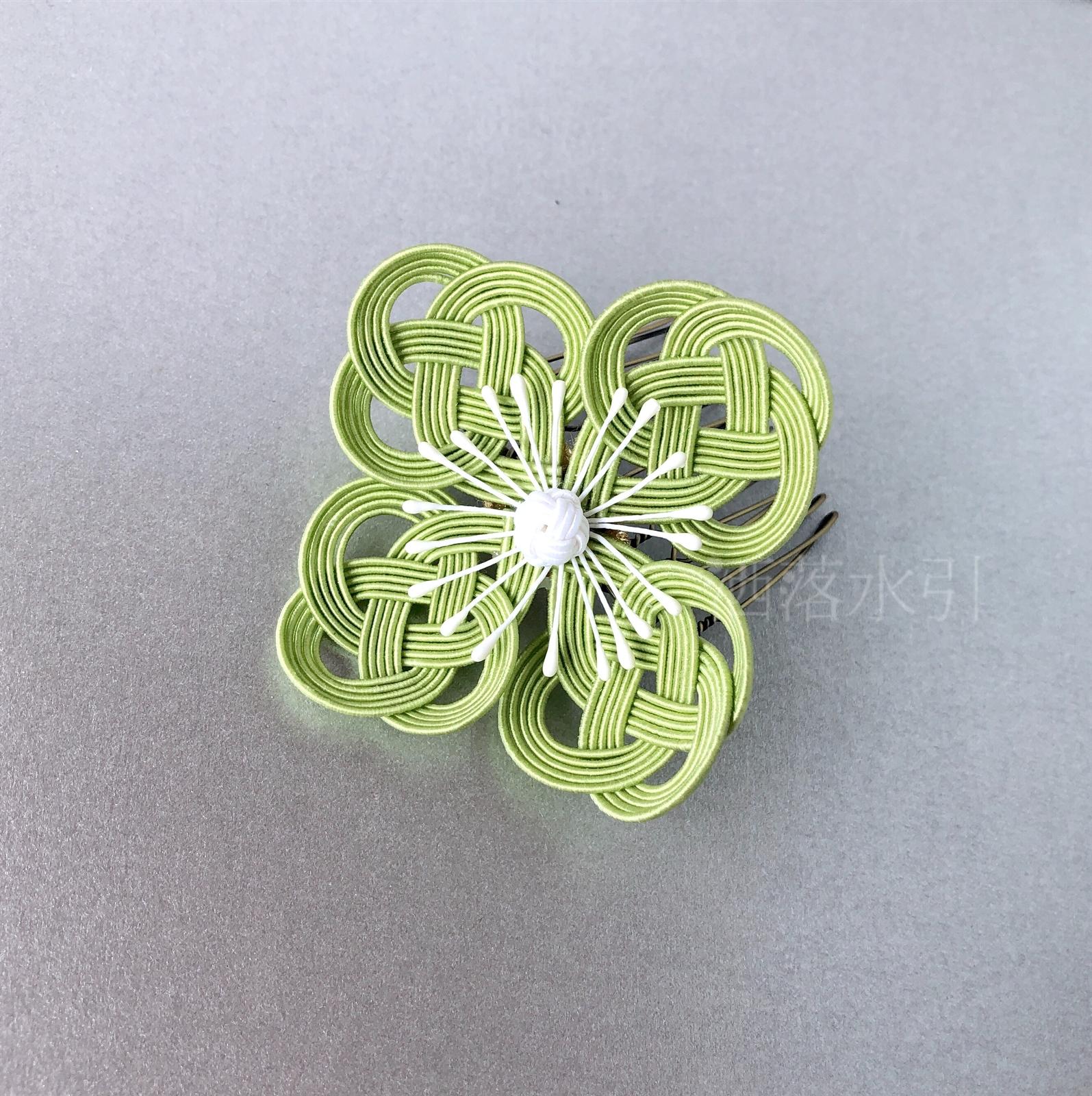【受注販売品】水引の髪飾り 野の花