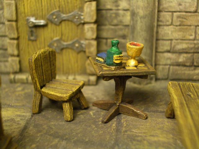 角テーブルと椅子(飲み物つき) - 画像2