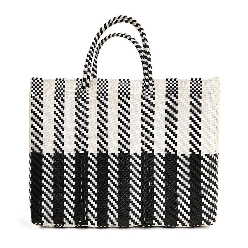 MERCADO BAG TECLADO- White x Black(L)