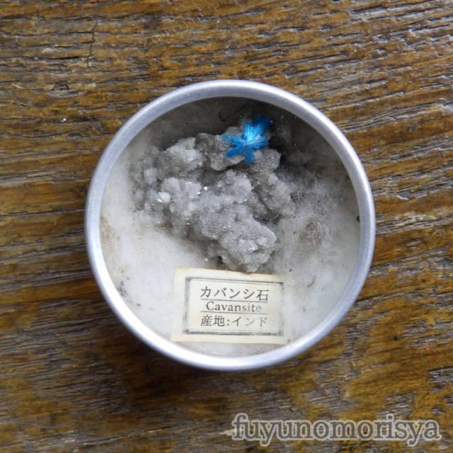 ブローチ - 標本缶 カバンシ石 - フユノモリ社 - no19-fuy-20
