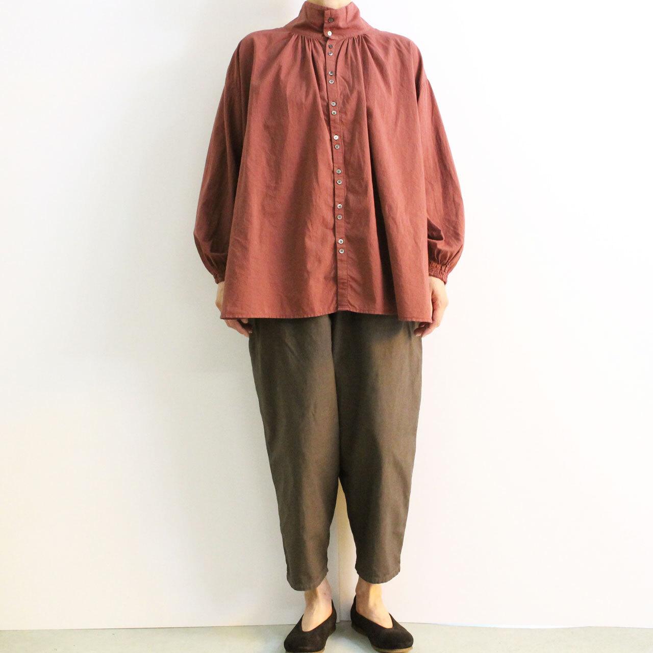 BROCANTE ブロカント ドゥークローシャツ 36-221X コットンローン 2WAYシャツ