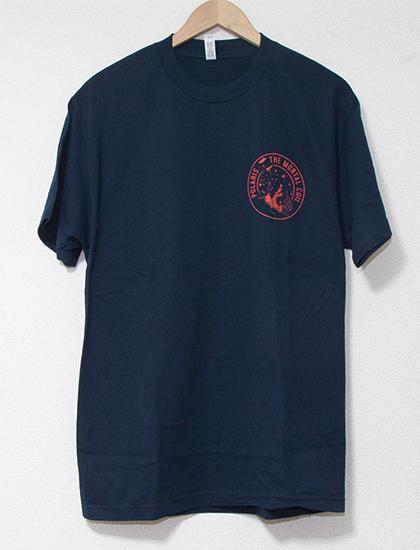 【POLARIS】Falling Circle T-Shirts (Navy)