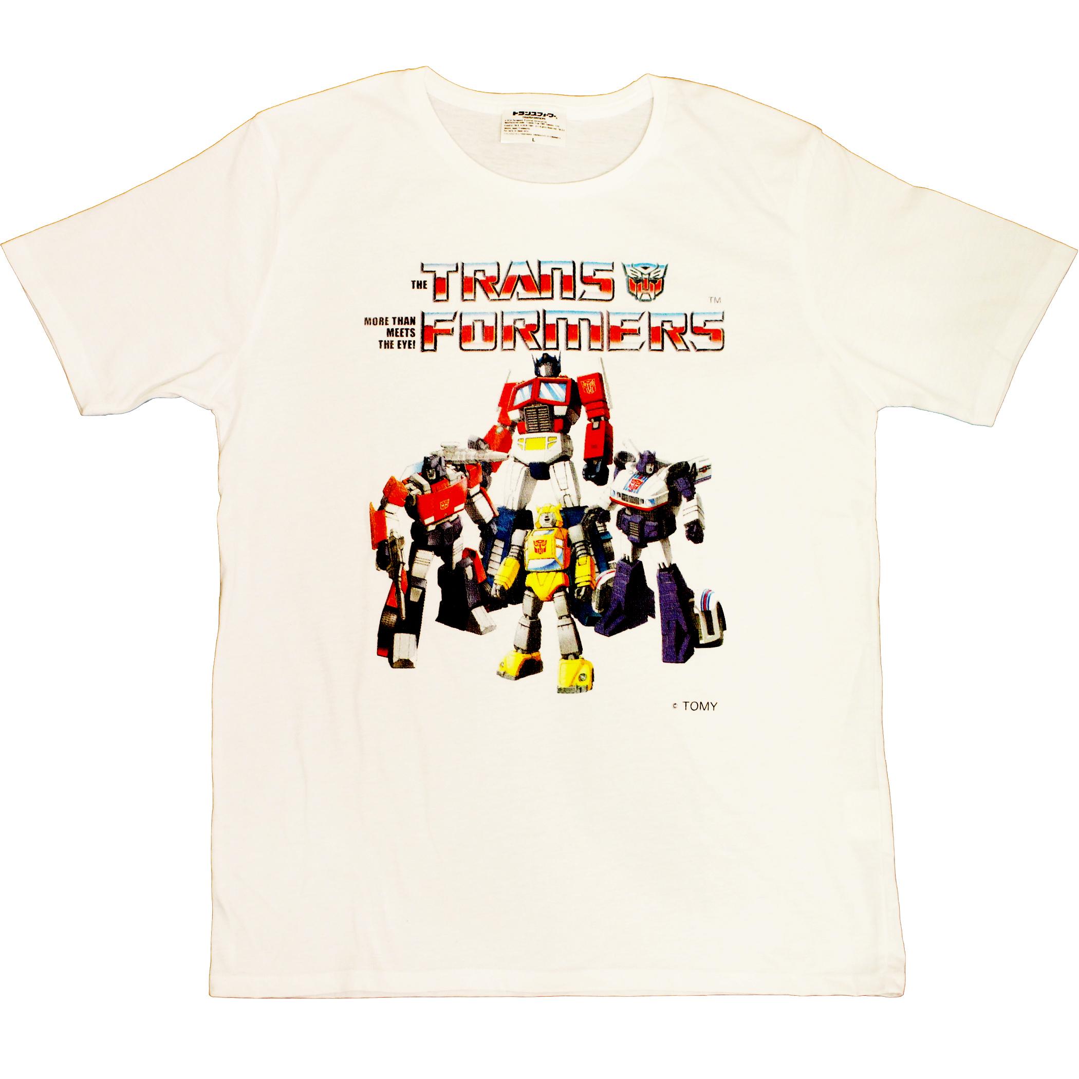 【トランスフォーマー】戦え!超ロボット生命体トランスフォーマー|チームサイバトロン Tシャツ