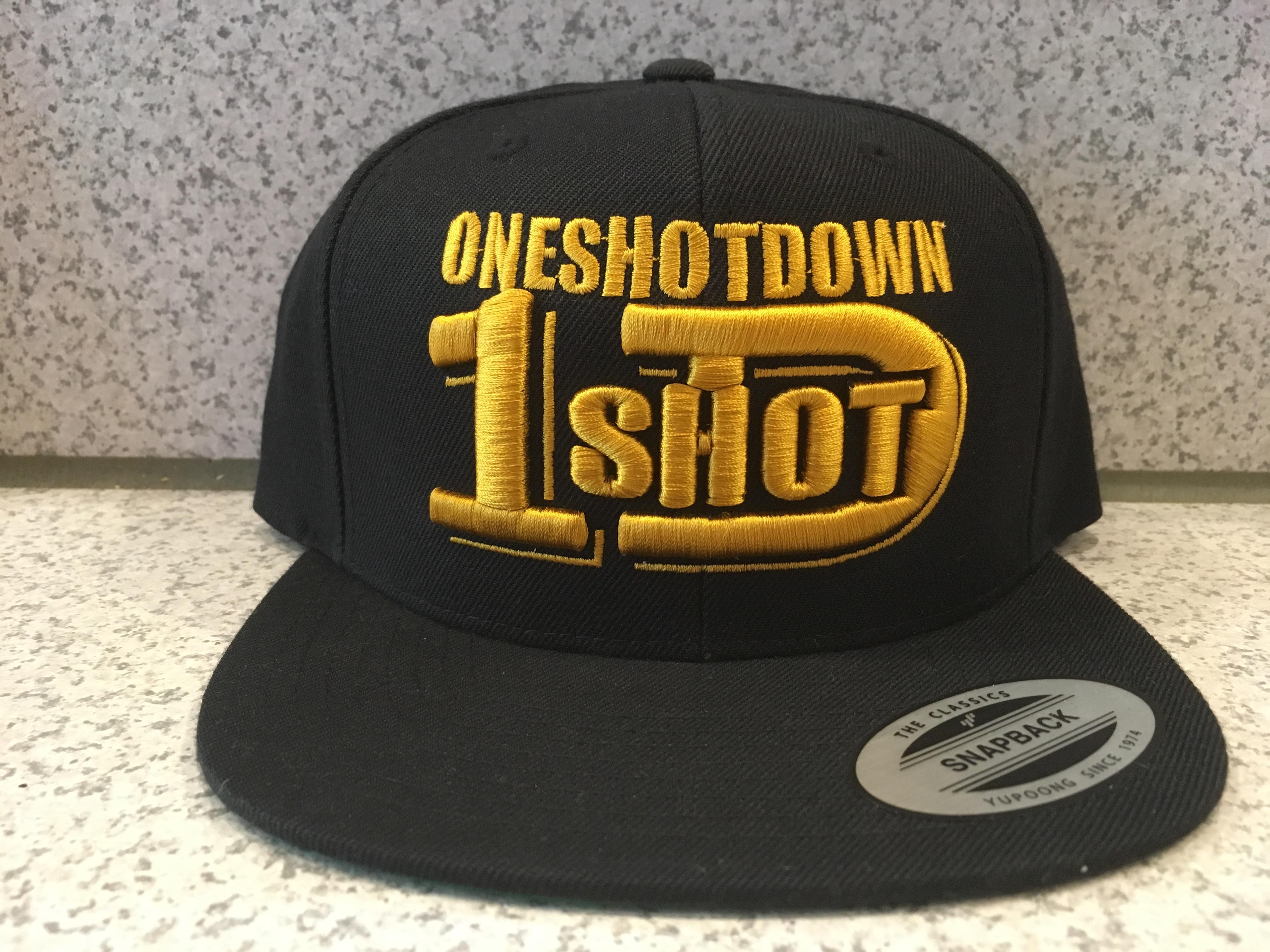 ONESHOTDOWNロゴ3D刺繍CAP - 画像2