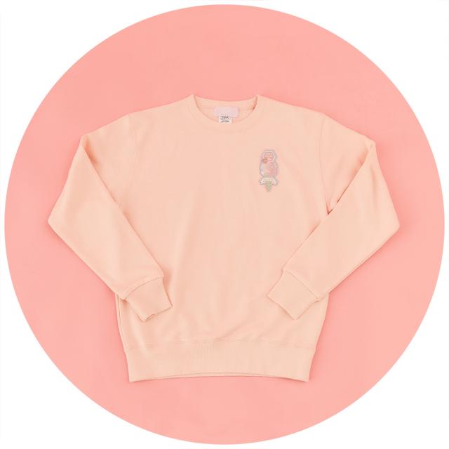 PINK TRUCK CREAMERY(ピンク)スウェット