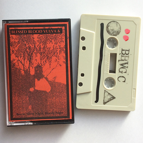 Blessed Blood Vulva & Guilty C. - live in Silent Night, Bloody Night  Tape - 画像2