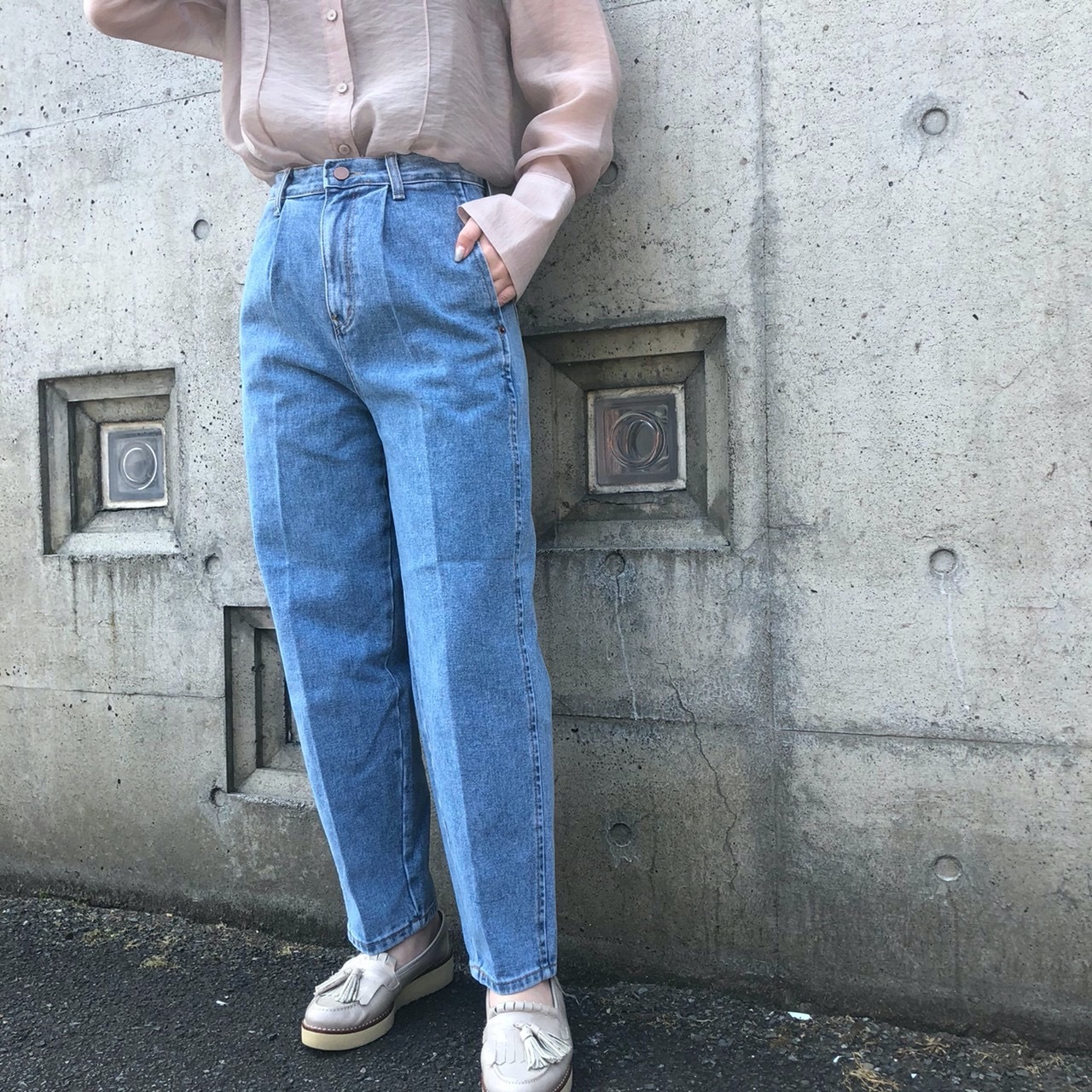 【 Days 】- 110-3217 - タックデザインデニム