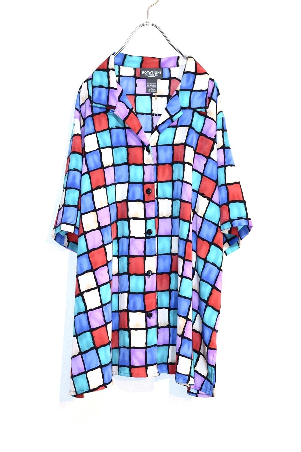 block pattern shirt