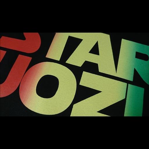 STAR UOZU Tシャツ ラスタ
