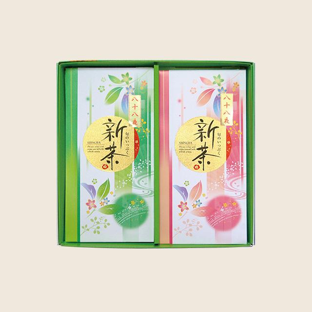 八十八夜 新茶90g × 2本箱入