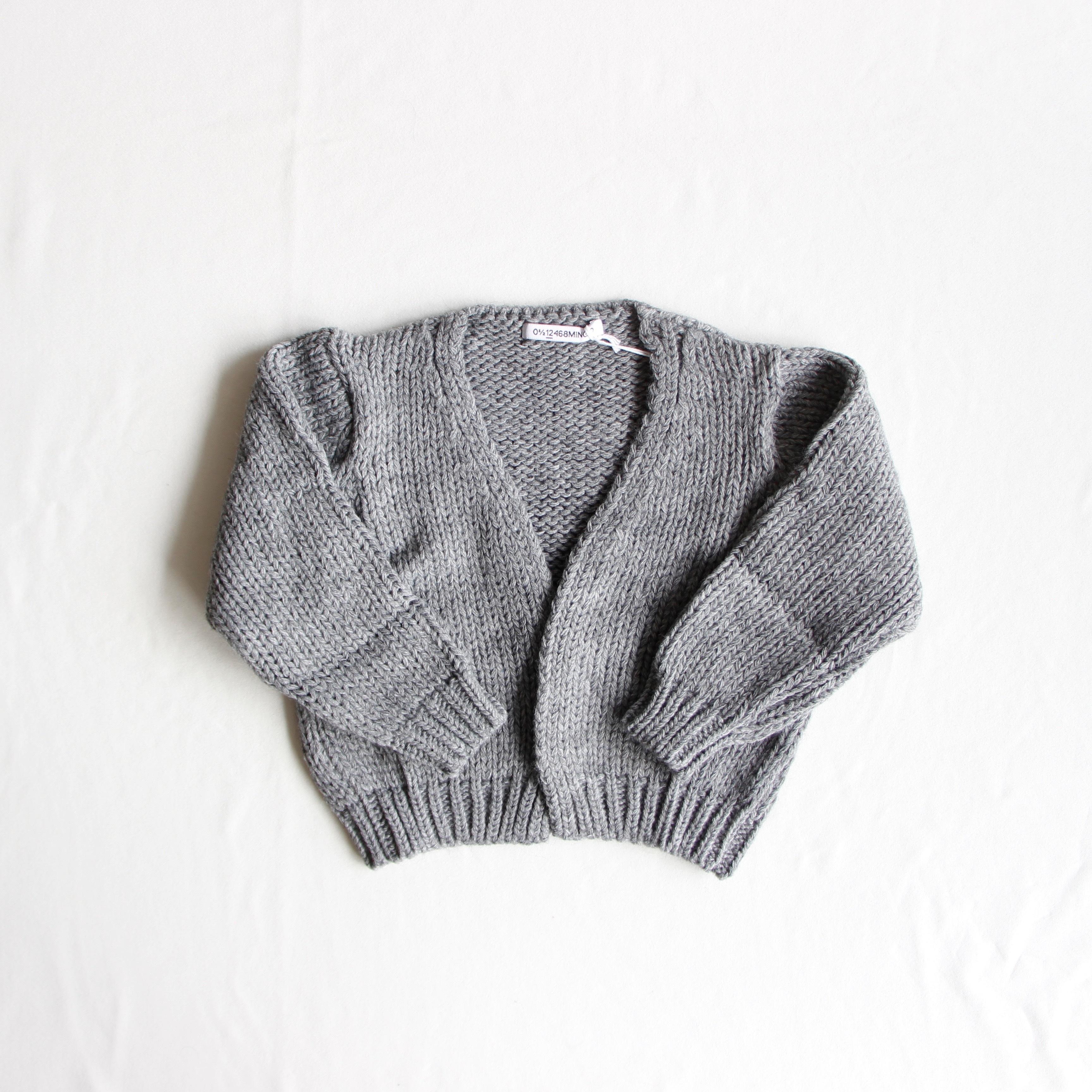《MINGO.2019AW》Cardigan / Grey