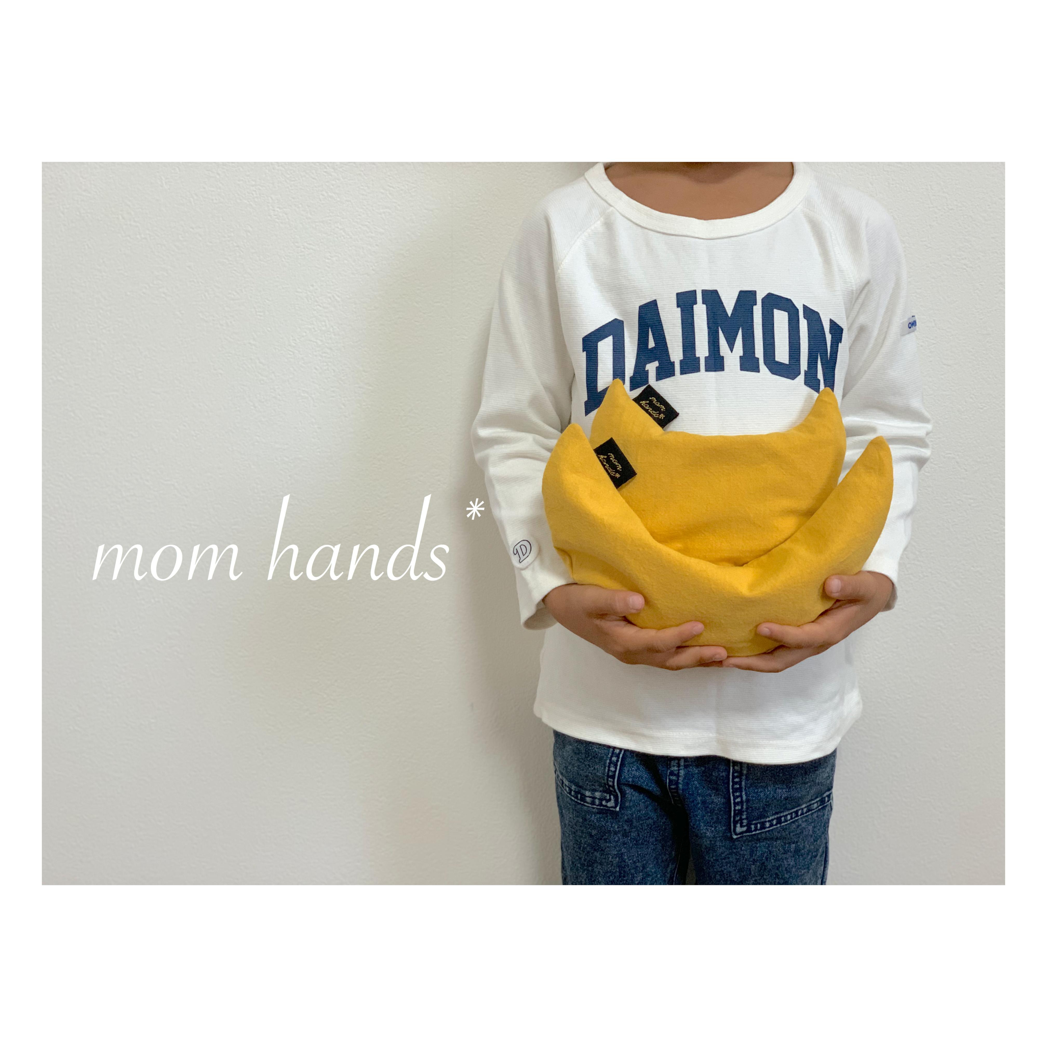 mom hands*お月様 小