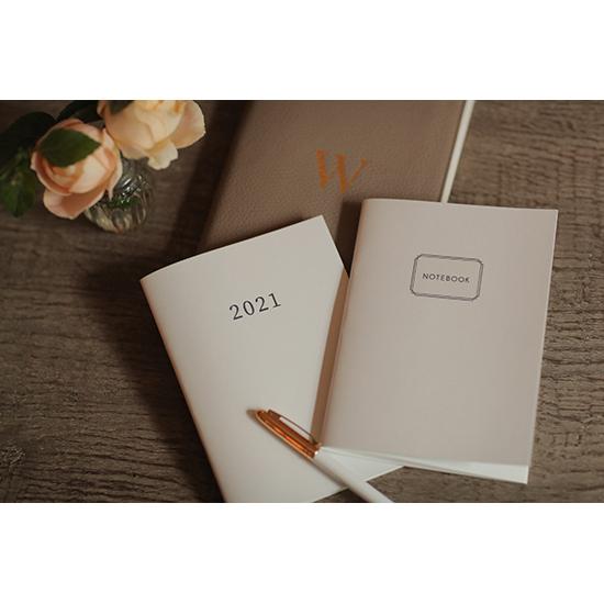 Wakoオリジナルスケジュール帳&ノートブックセット(A5サイズ)