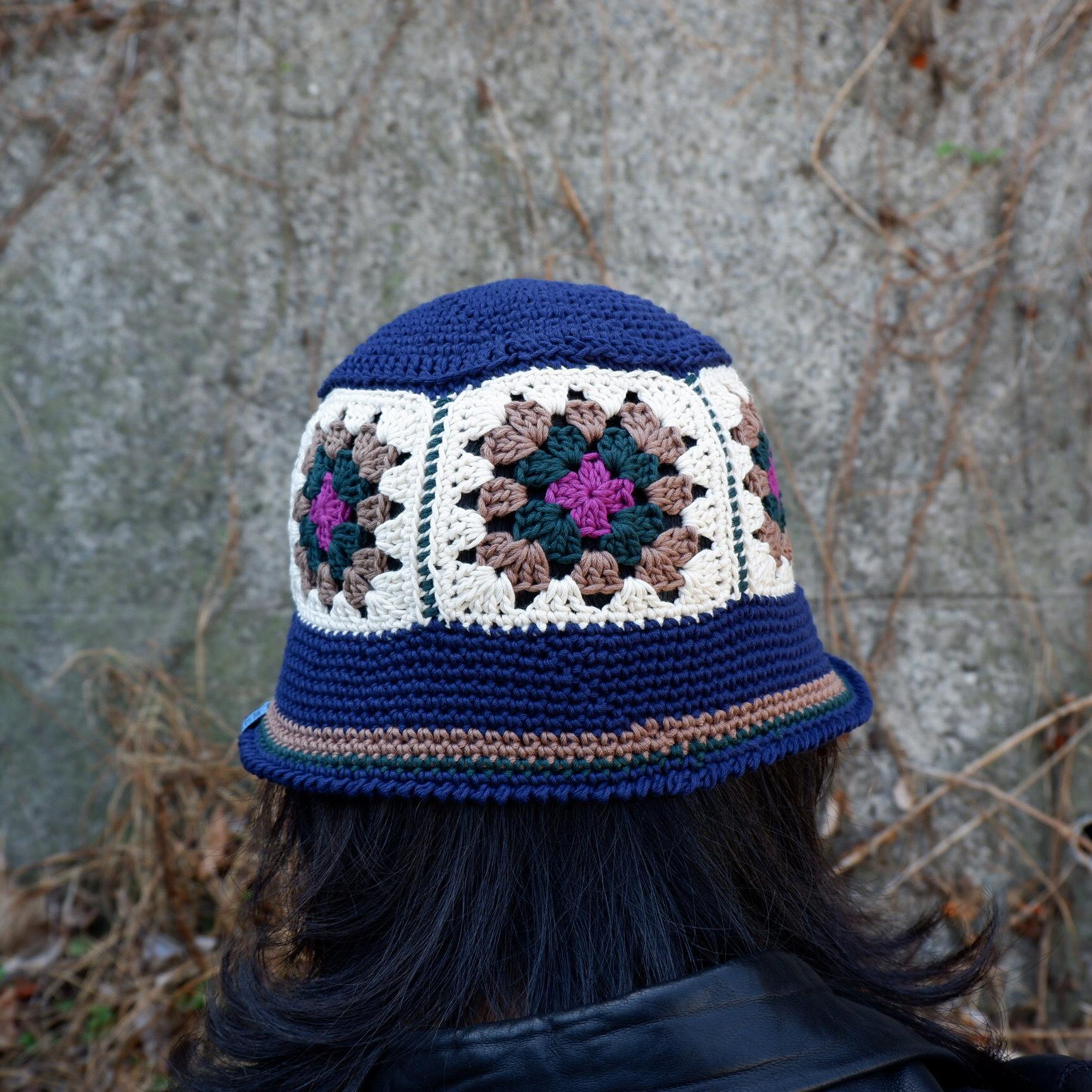 【Antage】Handmade Crochet Hat   E
