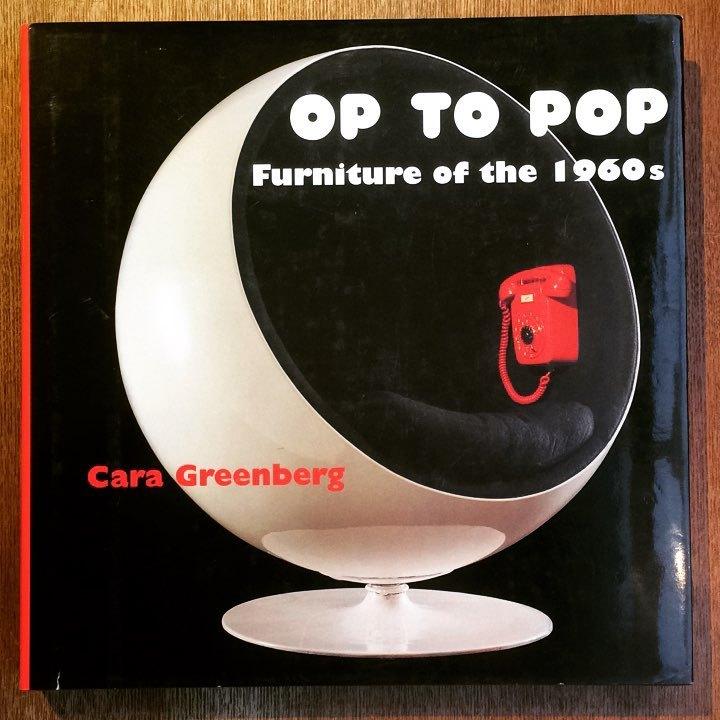インテリアデザインの本「Op to Pop: Furniture of the 1960's」 - 画像1